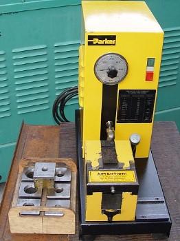 hydraulic flaring machine